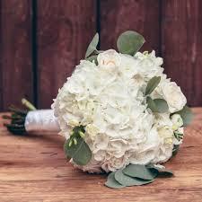 white hydrangea bouquet white hydrangea bridal bouquet package white diy