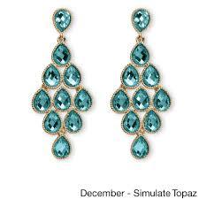 Deal Alert Turquoise Chandelier Earrings Yellow Gold Birthstone Chandelier Earrings Free Shipping On