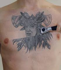 tattoos pictures clown chest model design idea for and
