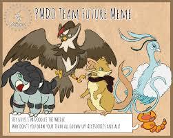 Future Meme - pmdo future meme by crashed on the moon on deviantart