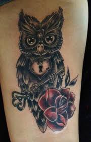Leg Flower - flower owl key by morbid