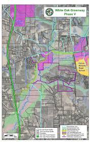 raleigh greenway map white oak creek greenway project ph v tobacco trail