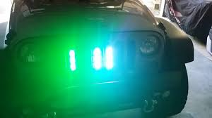 10 dollar strobe lights from china jeep wrangler youtube