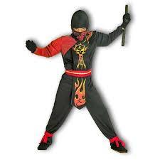 Ninja Halloween Costumes Ninja Flame Costume Fire Ninja Halloween Kids Red Ninja