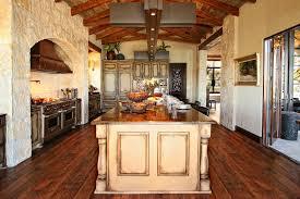 spanish kitchen decor style cabinets southwestern swivel bar stool