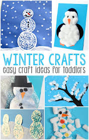 For Toddlers Simple Winter Crafts For Toddlers Easy Peasy And