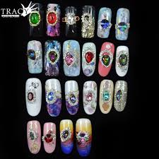 tracy simple nail 1x 3d nail art decoration metal alloy 23 gem