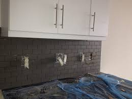 Grout Kitchen Backsplash Exciting Kitchen Subway Tile Pics Inspiration Tikspor