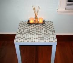 Lack Table Hack by Tiling A Lack Side Table Ikea Hackers Ikea Hackers