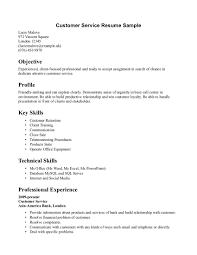 free sle resume for customer care executive centre resume key skills customer service therpgmovie