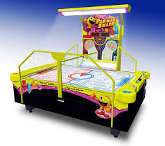 pac man smash 4 person arcade air hockey free delivery and