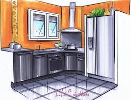 cuisine orange et noir cuisine orange et le de elise fossoux