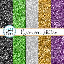 halloween background paper halloween digital paper glitter green purple orange black