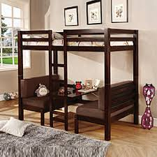 Bunk Bed With Futon On Bottom Futon Bunk Bed