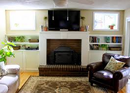 fireplace built in cabinets crafty sisters fireplace built ins