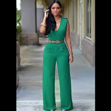 beautiful jumpsuits 2018 high waist plus size jumpsuits rompers bodysuit for v