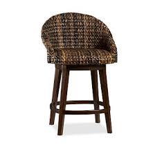 woven bar stool woven counter stool woven bar chair pottery barn