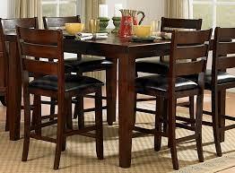 Bar Pub Tables  Sets Ameillia  PC Square Counter Height Set - Counter height dining table set butterfly leaf