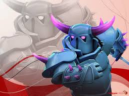 wallpapers arcer quen clash of clash of clans troops pekka hd picture wallpaper games