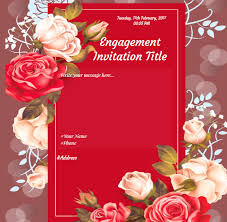 engagement greeting card free engagement invitation card online invitations