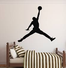 Game Room Wall Decor by Amazon Com Michael Jordan Wall Decal Basketball Wall Decor