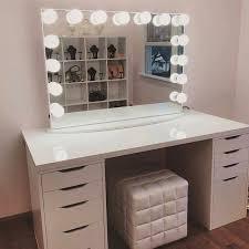 professional makeup desk vanity makeup set brilliant with lights table lighted mirror