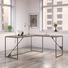 Industrial Table L Williston Forge Riverside Industrial L Shaped Writing Desk