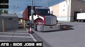 american truck simulator side jobs 5 n c youtube