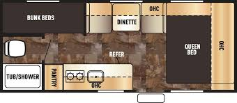 Bunkhouse Trailer Floor Plans Rvs Cheyenne Camping Center