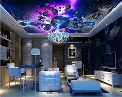 chambre ciel beibehang mode avancée personnalité papier peint décoratif coloré