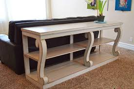 behind couch bar table plans u2014 dennis homes