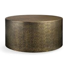 brass drum coffee table pinna 36 drum coffee table in graphite drum coffee table coffee