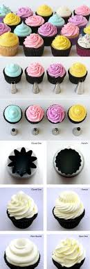 cupcake decorating tips great sheet for what the different tips the decorated