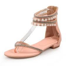 wedding shoes sandals rhinestone bead fancy sandals women s wedding shoes plus