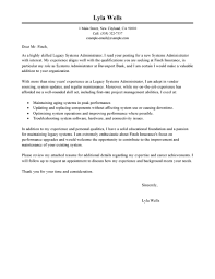 Windows System Administrator Resume Examples by Windows System Administration Cover Letter