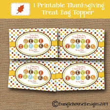 thanksgiving treat bag toppers scripture bible verse