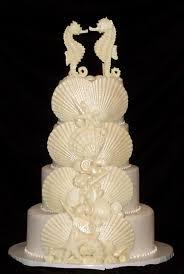 seahorse cake topper seashellfavors