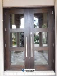 Impact Exterior Doors Contemporary And Clean Front Door Look Custom Front Doors