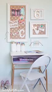 Diy Kid Desk Vintage Desk Turned Pink Crafting Goodness Desk Makeover