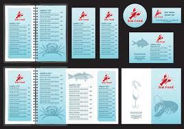 seafood menu templates download free vector art stock graphics