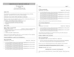 Chronological Resume Examples Samples by Lovely Idea Bartender Resume 2 Bartender Resume Hospitality