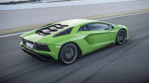 Green Lamborghini Aventador - bbc topgear magazine india car reviews driven lamborghini
