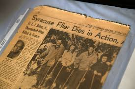 70 years later a tiny french village remembers the syracuse pilot