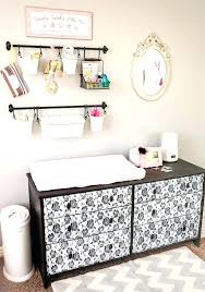 Changing Table Storage Changing Table With Storage Pottery Barn Rip Changing Table