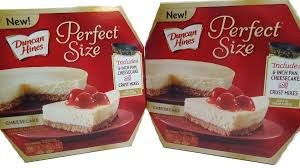 amazon com duncan hines perfect size dessert mix cheesecake