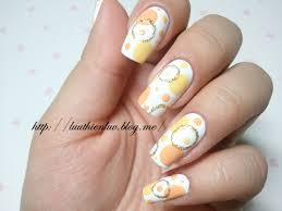 love it circle nail art click through for tutorial in korean