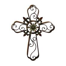 Unique Design Metal Cross Wall Decor Very Attractive Hand Crafted