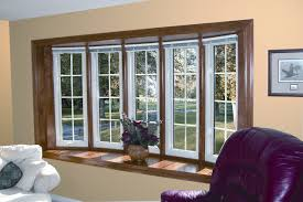 Home Window Decor by Window Treatments For A Bow Window Home Decorating Interior