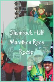 shamrock half marathon recap eat pray run dc