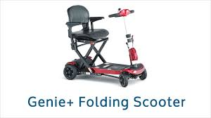 travel scooter images Careco genie foldable travel mobility scooter jpg